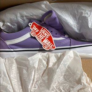 Brand New Purple Vans